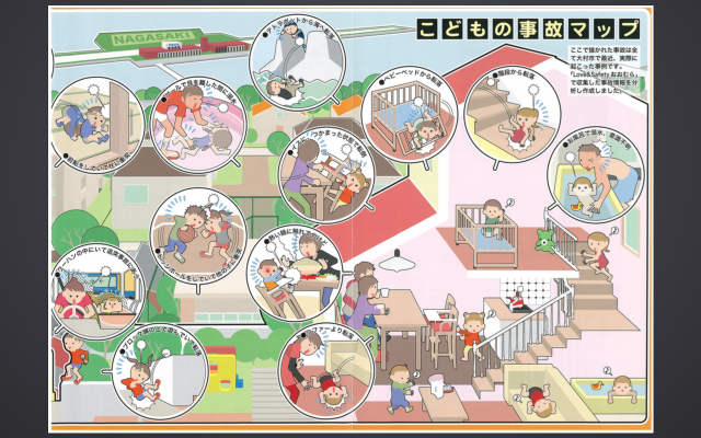 子どもの事故マップ②